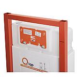 Набір інсталяція 4 в 1 Qtap Nest ST з лінійною панеллю змиву QT0133M425V1107GB, фото 3