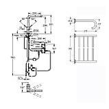 Набор Grohe смеситель для кухни сенсорный Minta Touch 31360001 + полка для полотенец Essentials Authentic, фото 2
