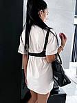 Жіноче плаття + портупея, турецька двунить, р-р універсальний 42-46 (бежевий), фото 2