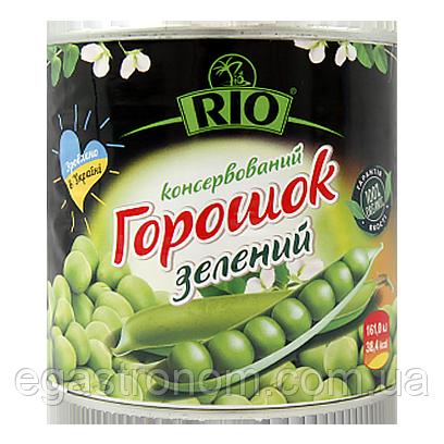 Горошок консервований зелений РІО 420g 12шт/ящ (Код : 00-00005701)
