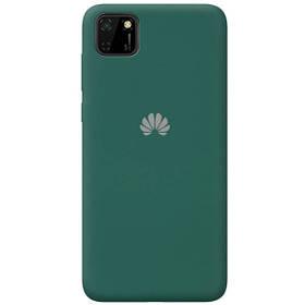 Чехол Wave Original Silicone Case c закрытым низом (AA) для Huawei Y5p