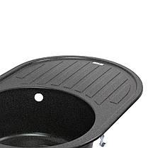 Кухонна мийка Lidz 780x500/200 GRF-13 (LIDZGRF13780500200), фото 3