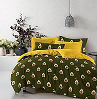 Півтораспальний постільний комплект -Авокадо