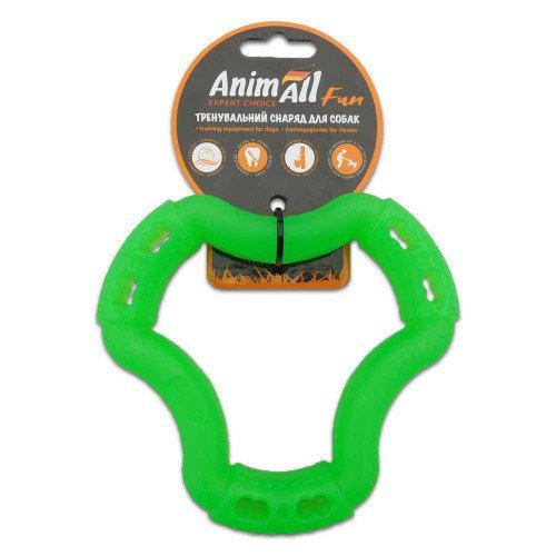 Игрушка AnimAll Fun кольцо 6 сторон, зелёный, 12 см