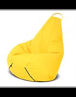"""Безкаркасне крісло-мішок """"Груша"""" 130х90 (жовтий) Oxford 600 Den, фото 1"""