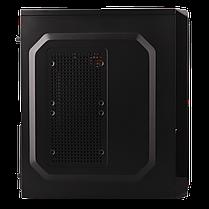Корпус LP 2011-550W 12см black case chassis cover з 2xUSB2.0 і 1xUSB3.0, фото 3
