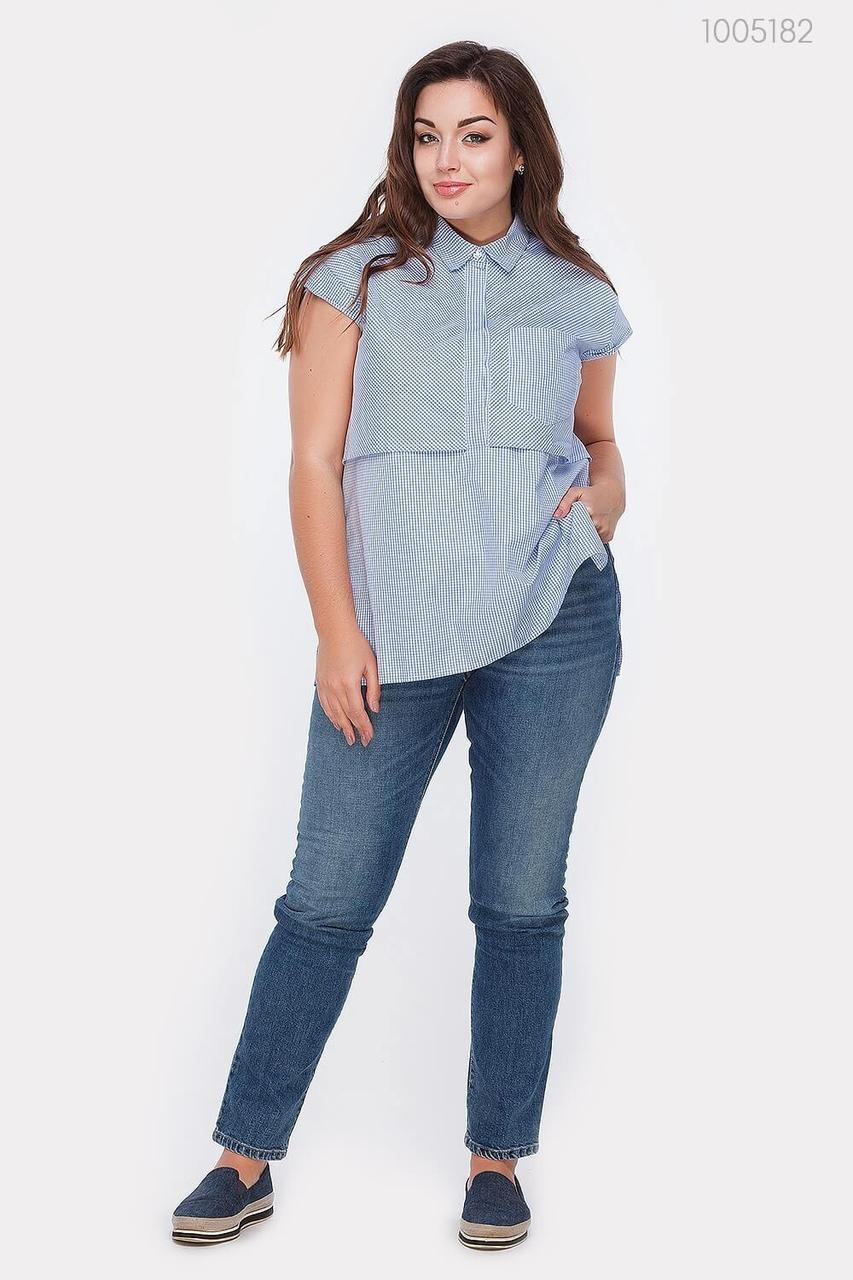 Блузка PEONY Аден 48 Голубой (1005182)