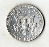США пол доллара 1967 серебро 11.5 грамм №173, фото 2