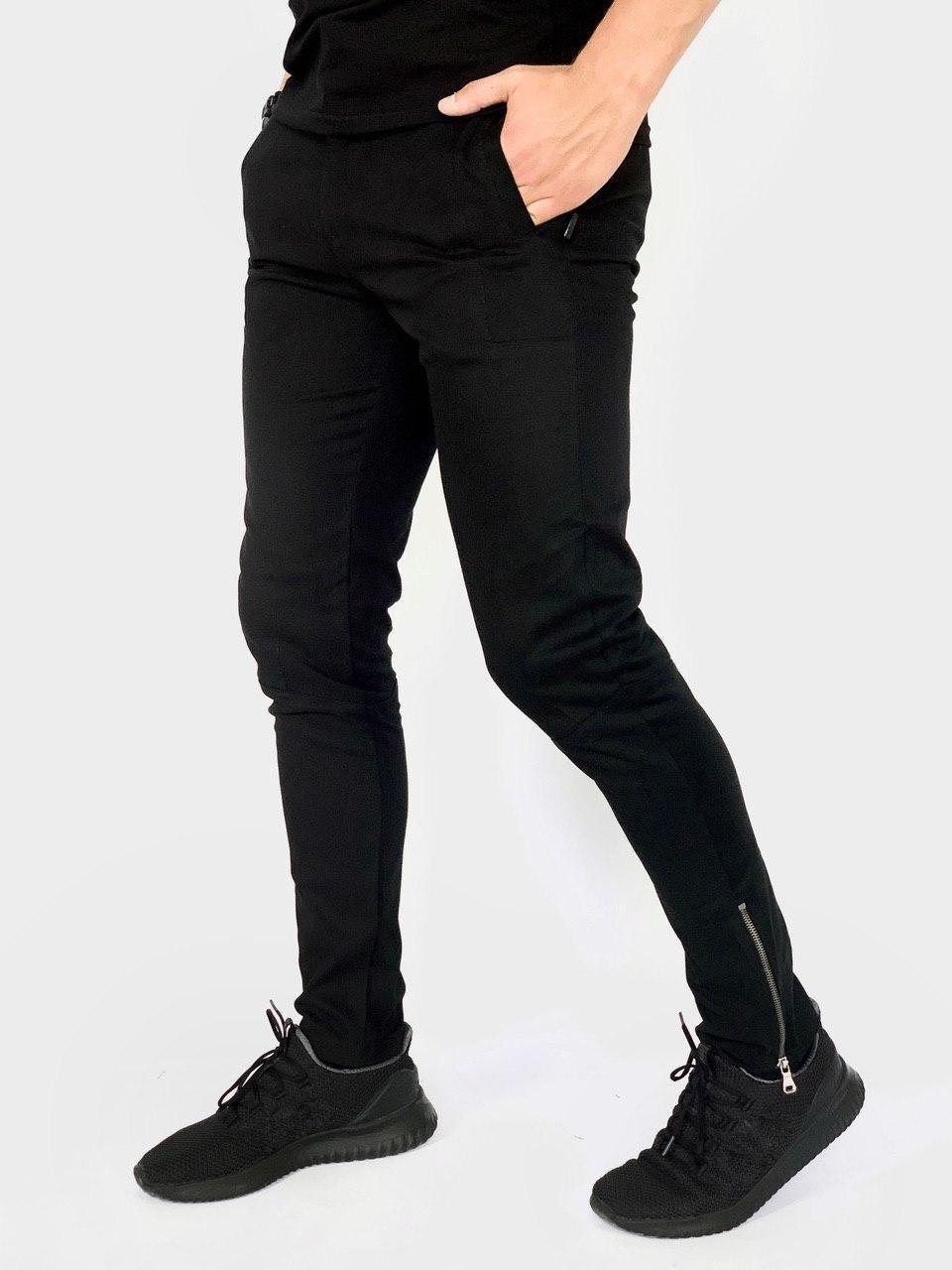 """Котоновые штаны Intruder """"Strider""""  XL Черные (1595930065/3)"""