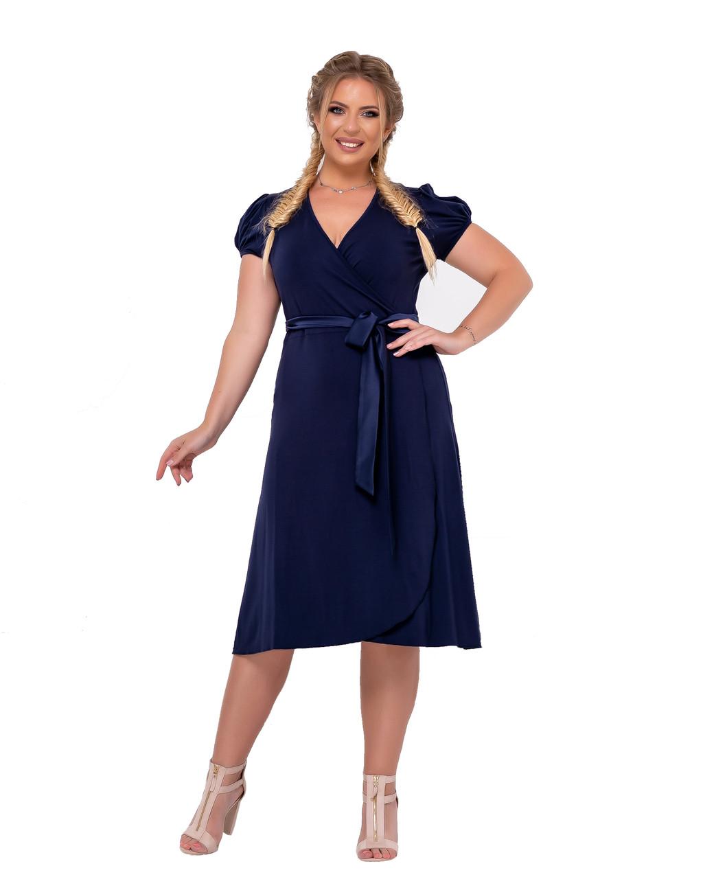 Сукня Tasa 1155 50 Синє