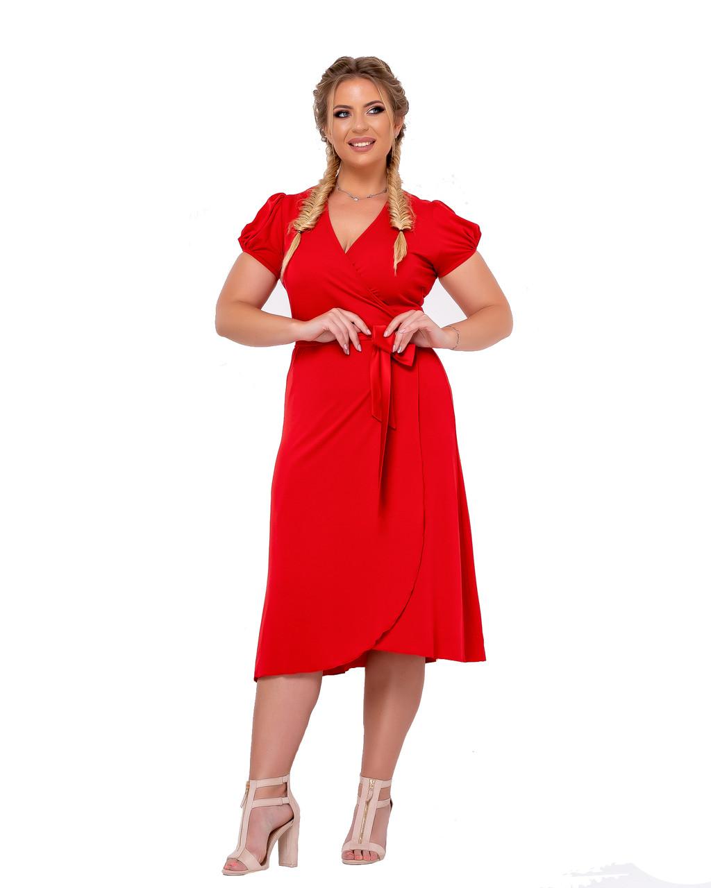 Платье Tasa 1155 56 Красное