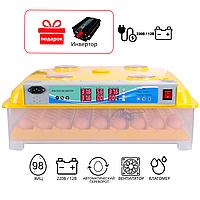 Инкубатор автоматический MS 98 с автоматическим переворотом яиц, фото 1
