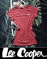 Футболка LEE COOPER р.M ORIGINAL женская, подростковая, красная, синяя, черная, электрик