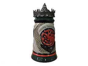 Кружка Game of Thrones House Targaryen Fire and Blood Гра Престолів Будинок Таргаріен
