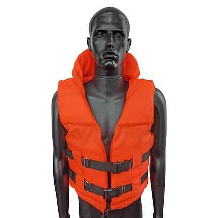 Спасательный жилет Sky-Fish Оранжевый, для взрослого (110-140 кг), фото 2