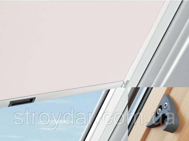Сонцезахисні шторки для мансардних вікон Roto версія Стандарт ZRS