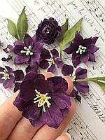 Квіти з тканини F 100