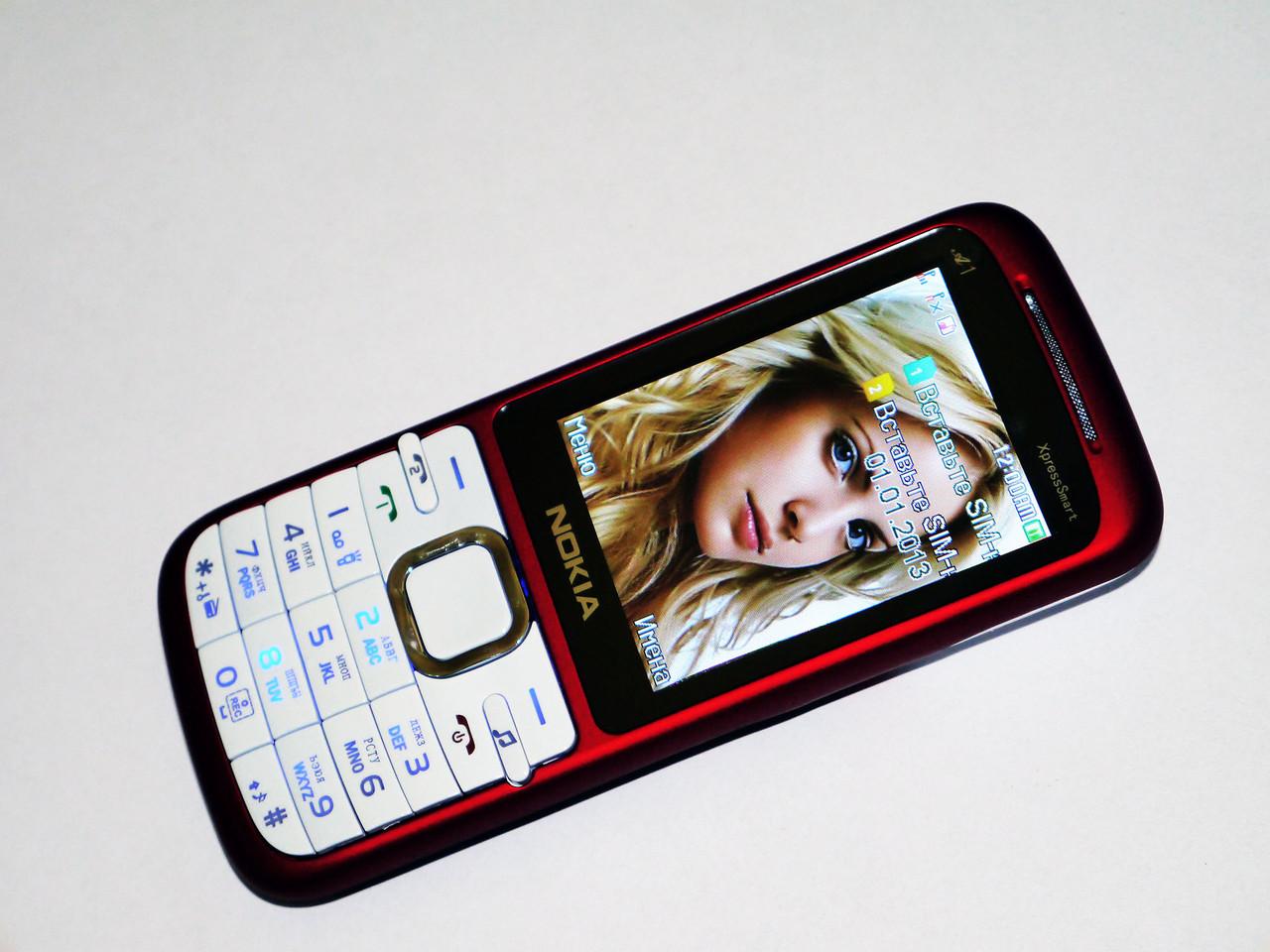 Телефон Nokia A1 Белый - 2Sim +2,4'' Экран