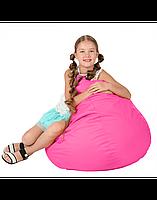 """Безкаркасне крісло-мішок """"Груша"""" 100х80 (рожевий) Oxford 600 Den"""