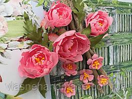 Квіти з тканини F 102