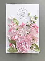 Квіти з тканини FT 103