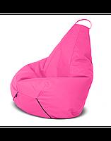 """Безкаркасне крісло-мішок """"Груша"""" 130х90 (рожевий) Oxford 600 Den"""