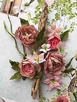 Квіти з тканини F 106