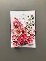 Квіти з тканини FT 108