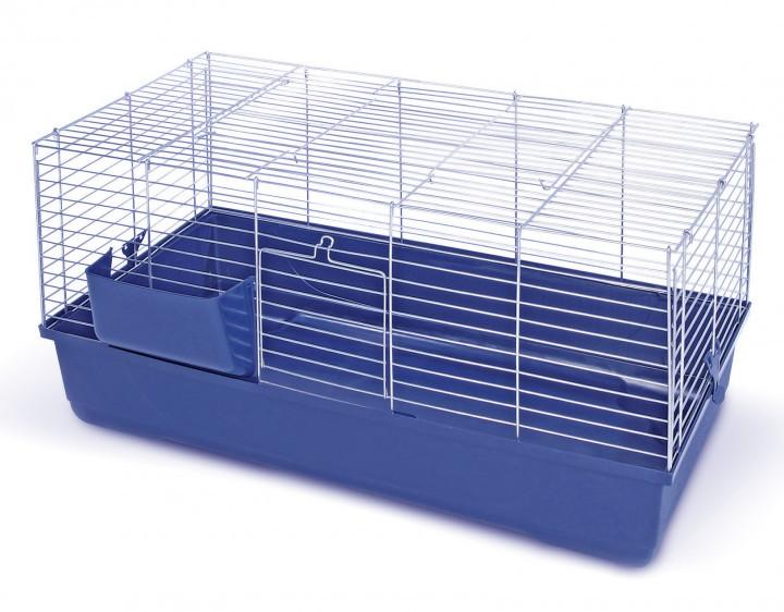 Клетка для кролика MPS BALDO 100 100*53*46 см (синий поддон)