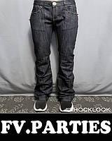 Джинсы клеш FV.PARTIES ORIGINAL р.25,26,28,29 штаны клешные женские, подростковые