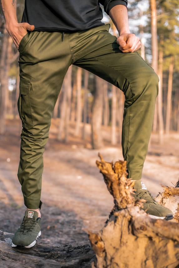 """Штани котонові чоловічі Intruder """"Baza"""" штани хакі осінні   весняні   літні, фото 2"""