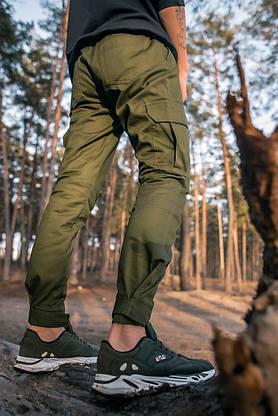 """Штани котонові чоловічі Intruder """"Baza"""" штани хакі осінні   весняні   літні, фото 3"""
