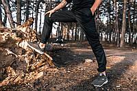 Мужские штаны карго черные, брюки котоновые осенние весенние Intruder Baza
