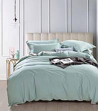 Комплект постельного белья Bella Villa сатин Евро мятный
