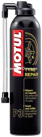 Герметик для шин Motul P3 Tyre Repair (300ML) Франция, фото 2
