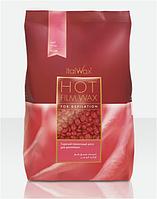 Віск в гранулах для депіляції ItalWax 1 кг Троянда