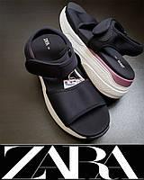 Босоножки ZARA р.40 ORIGINAL спортивные босоножки на платформе женские, подростковые