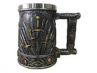 Кружка Чашка 3D Игра Престолов Железный Трон Game of Thrones, фото 1