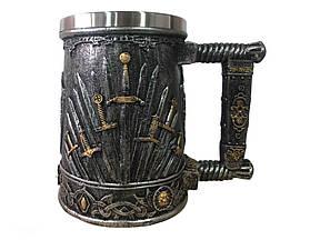 Кружка Чашка 3D Гра Престолів Залізний Трон Game of Thrones