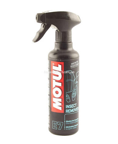 Средство для удаления следов насекомых Motul E7 Insect Remover (400ml) Франция, фото 2