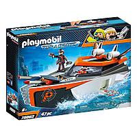 """Ігровий набір """"Шпигунський моторний човен"""" Playmobil (4008789700025), фото 1"""