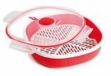Контейнер Snips для приготовления еды на пару в микроволновке, пароварка, 2 л, фото 5