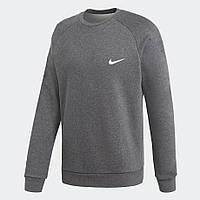 Темно-серый Свитшот Найк однотонный толстовка реглан Nike