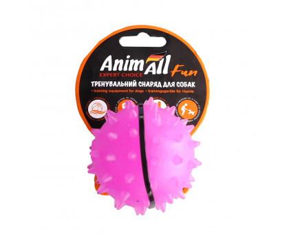 Игрушка AnimAll Fun мяч-каштан, фиолетовый, 5 см