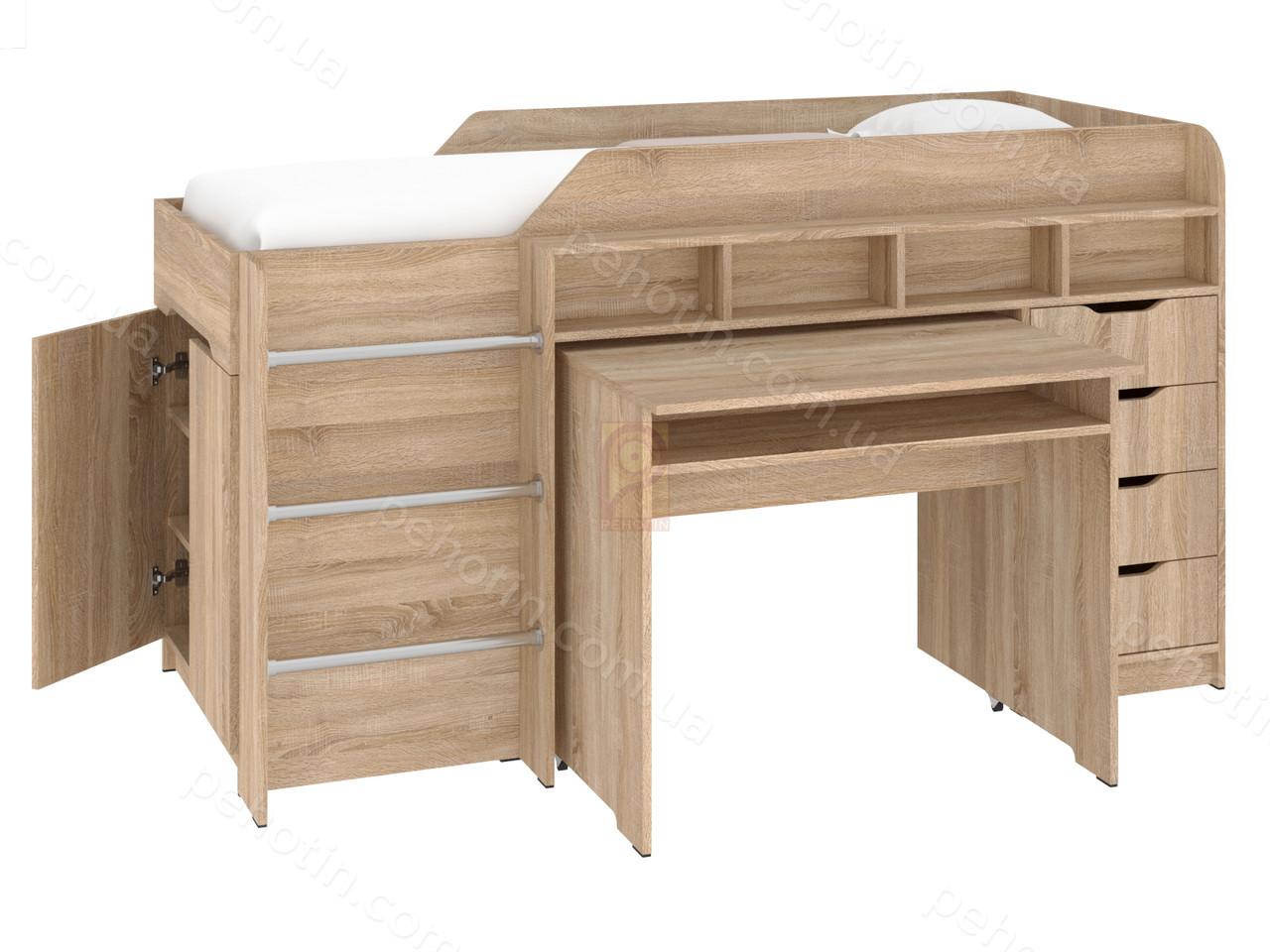 Кровать-чердак Легенда Легенда дуб сонома