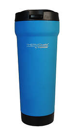 Термокружка Thermos BrillMug - 450 з герметичною кришкою сталева 450 мл, Синій