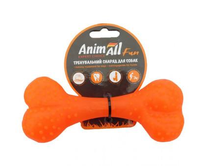 Іграшка AnimAll Fun кістка 88127, помаранчева, 25 см