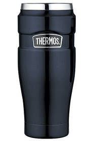 Термокружка Thermos SK1005 вакуумний сталевий з герметичною кришкою 470 мл, Синій