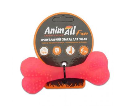 Игрушка AnimAll Fun кость 88113, коралловая, 12 см