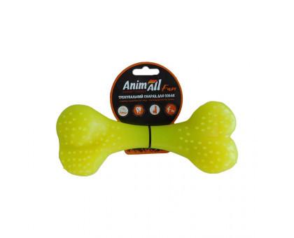 Игрушка AnimAll Fun кость 88121, желтая, 15 см